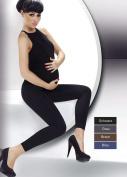 Winter Women Maternity Front Panel Over Bump Full Ankle Length Leggings