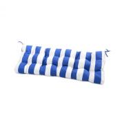 Greendale Home Fashions Outdoor Swing/Bench Cushion, Cabana Blue