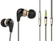 TunePhonik iFX5 Premium Ceramic Stereo In-Ear Headphones/Headset with In-line Microphone