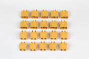 Summitlink® 10 Pairs XT60 Male Female Connector for High-Amp Lipo Batteries