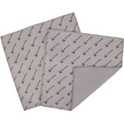 Pro Tec 18cm X 18cm Microfiber Polishing Cloth - 2 Pack, Grey/Black