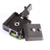 Foto4easy Camera Camcorder Tripod Monopod Ball Head Quick Release QR Plate