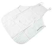 Hive White Plastic Apron For Waxing Salon Hair Removal Beauty Treatments CODE