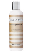 For All My Eternity Tan Saving Shower Gel 250ml Natural Self Tan Extending Body Wash Paraben Free with Provitamin B5 and Certified Organic Aloe Vera plus Sweet Orange and Grapefruit Extract