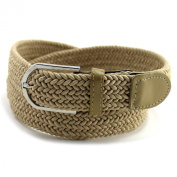 Enimay Designer Men's Women's Braided Webbed Stretch Belts