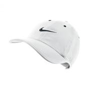 Men's Nike Heritage Twill Adjustable Hat White/Black Size One Size