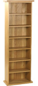 Carnaby Oak Double CD Tower