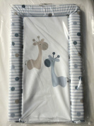 Baby Changing Mat Giraffe Friends Grey Brown