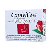 CAPIVIT A+E forte system - 30 capsules - supports and stimulates the natural process of skin regeneration - renewal of skin cells, hair and nails.