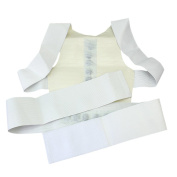 Magnetic Back Shoulder Posture Corrector Support Brace Belt Vest Adjustable
