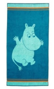 Moomin Valley MOOMIN Mint Children's Face or Hand Terry Towels by Finlayson & Moomin Characters 30x50 cm