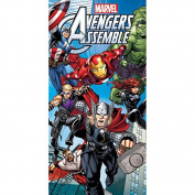 "Marvel Avengers 140 x 70 cm ""Assemble"" Beach and Bath Towel"