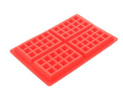 Qingsun Silicone Square Waffle Moulds for Oven