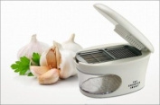 Cool Gadgets Kitchen Garlic Easy Press Slicer Grater Dicing Slicing and Storage Tool 3 in 1