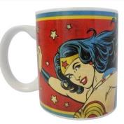 DC Comics Wonder Woman Mug - Vintage Style
