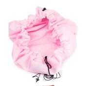 Large Kids Toy Storage Bag Play Mat Diameter 150cm Pink