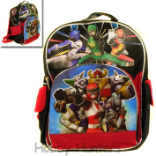 Small Backpack - Power Rangers Team New School Book Bag Boys 379704