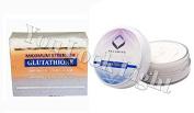 (GC2) Premium Maximum Whitening/Peeling Soap w/ Glutathione, Arbutin, and Kojic acid + Authentic Relumins Underarm & Inner Thigh Cream - Made For Hard to Whiten Areas