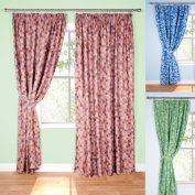 Pixel Ready-Made Light-Reducing Curtains (Brown, 117 x 183cm