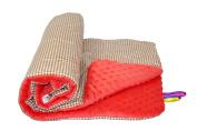 Baby's Comfort Bobble Minky Blanket