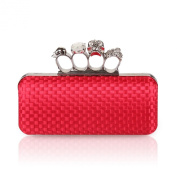 H:oter® Collection Antique Floral Seed / Bead / Sequin Soft Clutch Evening Bag, Exquisite Seed Bead Sequined Leaf Evening Clutch Handbag, Gift Ideas--Colours Various
