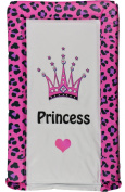 BABY CHANGING MAT PRINCESS LEOPARD PRINT