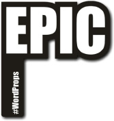 #WordProps EPIC Photo Booth Prop