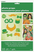 St Patricks Day Themed Party Photo Booth Prop Decoration Kit