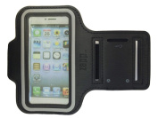 iPhone 5 5S 5C Armband - For Running, Jogging, Sport Armband, Secure fit Sports case for iPhone 5/5c/5s designed for Jogging, Running, or Gym with Key Holder.