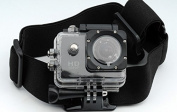 QUMOX @ Adjustable Elastic Head Strap Belt Mount For QUMOX SJ4000 Sport Action Cam