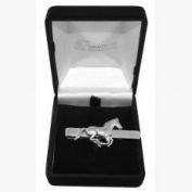 Pewter Horse Tie Slide, Wedding, Best Man, Usher