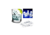 SMO Titanic Gin & Titonic Ice Cube Tray Titanic Shaped Ice Cubes & Slew of Icebergs