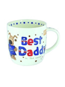 Boofle Best Daddy China Mug In Gift Box Christmas Father's Day Birthday Gifts
