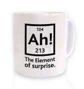 Ah! The Element Of Surprise Mug - Science Geek Mug