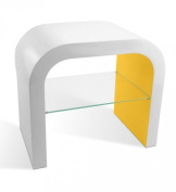 Contemporary Designed U Shaped Bed Side Lamp Table in Various Colours