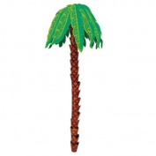 Amscan International Hanging 3D Decoration Palm Tree Hawaiian