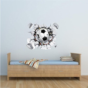 Football Full Colour Wall Art Sticker Mural Decal Graphic Boys Bedroom Transfer