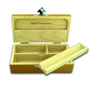 Wolf T2 Deluxe Wooden Stash Box