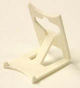 Display Stand : Clip Small Ivory Plastic x 2 : Plate Support
