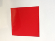50 Red 10cm inch Square Bathroom/Kitchen Tile Transfer Stickers Cheap and cost effective