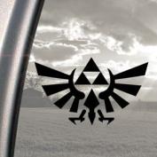 Legend Of Zelda Black Decal Car Truck Bumper Window Sticker