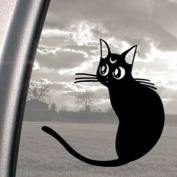 SAILOR MOON Black Decal Luna Cat Car Truck Window Sticker