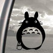 TOTORO Black Decal Ghibli Laputa Jdm Anime Window Sticker