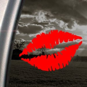 Woman Mouth Lip SEXY Red Decal Car Truck Window Red Sticker