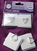 Self Adhesive Hanger x 2 : Plastic Hangers with hook