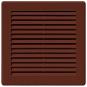 Air Vent Grille Cover 300 x 300mm (12 x 12inch) BROWN Ventilation Cover High Quality ABS Plastic