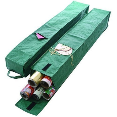 Wrapping Paper Storage Bag Organiser