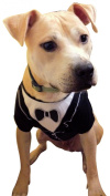 Dog Tuxedo (Small - Length (back) 24.13 cm), by Frenchie Mini Couture