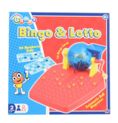 Traditional Games Bingo and Lotto Game Set