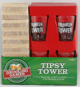 Tipsy Tower Shots Drinking Game Drunken Tower Jenga Adult Drink Glasses Party